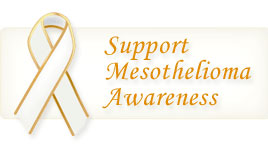 Support Mesothelioma Awareness Ribbon